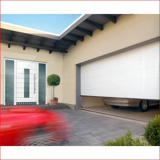 Pin portoni sezionali garage moderna greca m on pinterest for Hormann sezionali