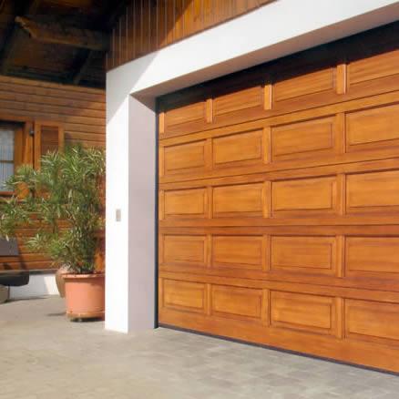 Portoni garage sezionali